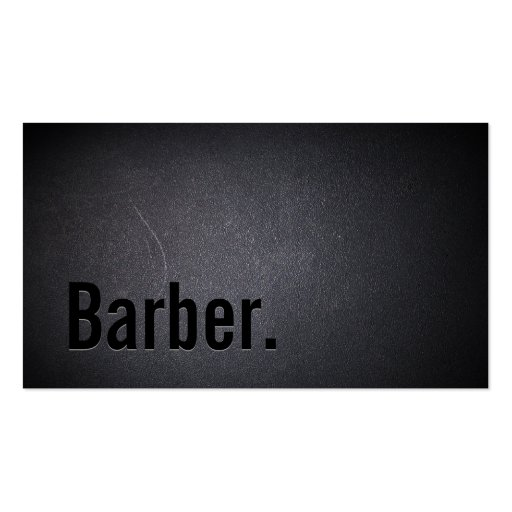 Create Your Own Barber Business Cards Page4