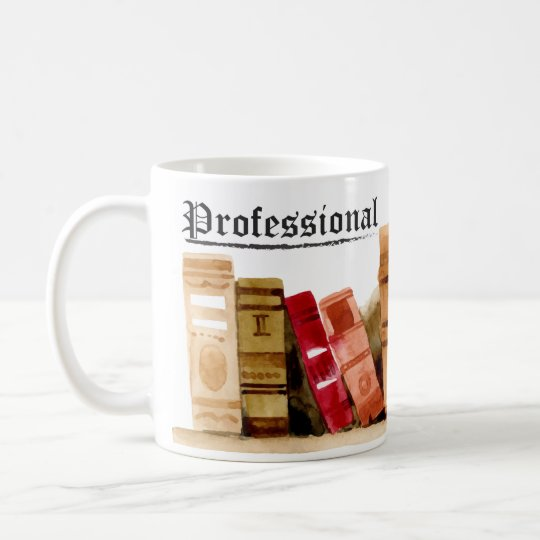 Professional Bookworm Coffee Mug
