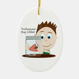 Professional Bug Catcher Christmas Ornament