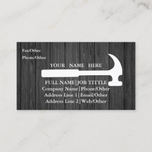 Woodworking Tools Business Cards Zazzle Uk