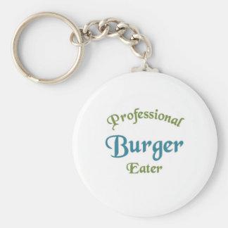Professional Burger Eater Key Chain