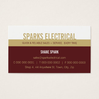 PROFESSIONAL BUSINESS CARD :: bold block2 12L
