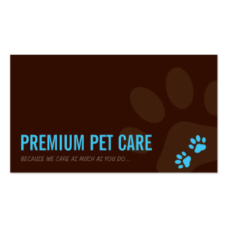 PROFESSIONAL BUSINESS CARD :: walking paws 5L