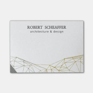 Professional Business Design Modern Geometric Post-it® Notes
