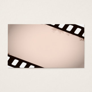 professional but unique movie business card temp