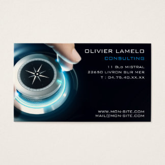 Professional calling card consulting