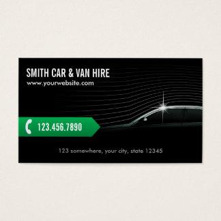 Professional Car & Van Hire Business Card