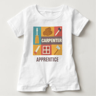 Professional Carpenter Iconic Designed Baby Bodysuit