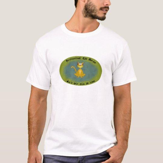 Professional Cat Herder Funny Shirt