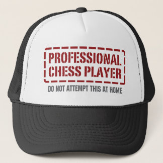 Professional Chess Player Trucker Hat
