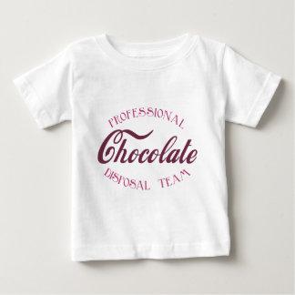 Professional Chocolate Disposal Team Baby T-Shirt