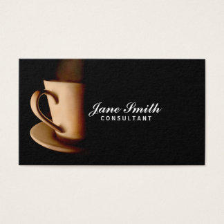 Professional Coffee Business Card