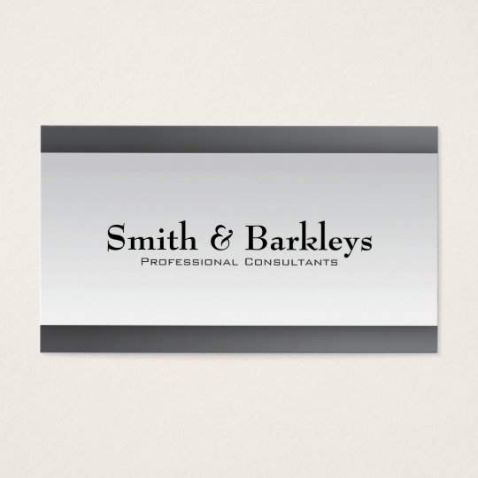 Professional Consultant - Business Cards