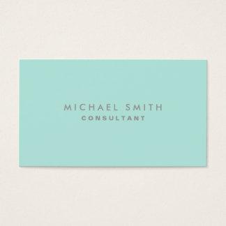 Professional Cosmetologist Elegant Fashion Plain Business Card