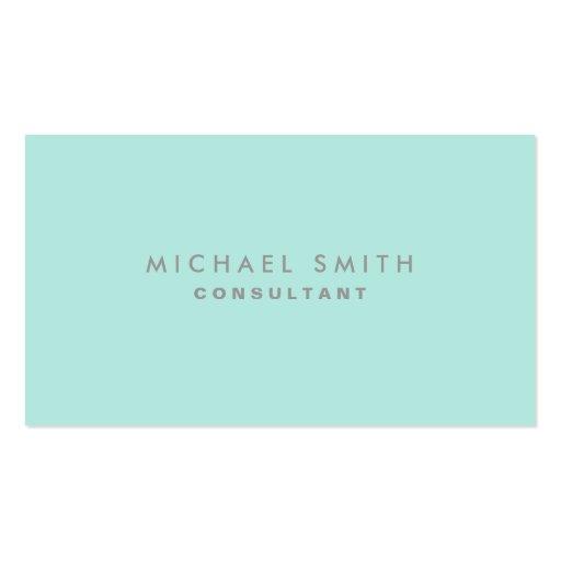 Professional Cosmetologist Elegant Fashion Plain Business Card Template