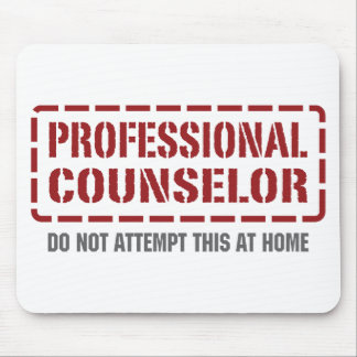 Professional Counselor Mouse Pad