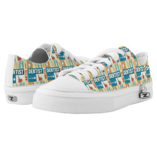 Professional Dentist Iconic Designed Low Tops