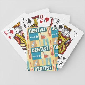 Professional Dentist Iconic Designed Playing Cards