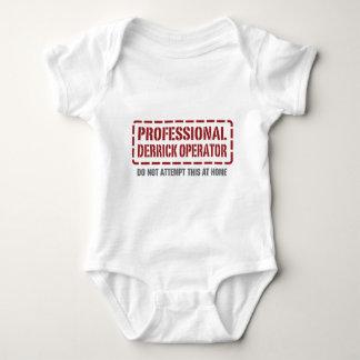 Professional Derrick Operator Baby Bodysuit