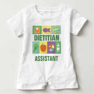 Professional Dietitian Iconic Designed Baby Bodysuit