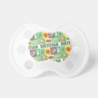 Professional Dietitian Iconic Designed Baby Pacifiers