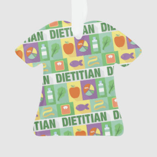 Professional Dietitian Iconic Designed Ornament