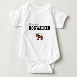 Professional Dog Walker Baby Bodysuit