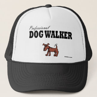 Professional Dog Walker Trucker Hat