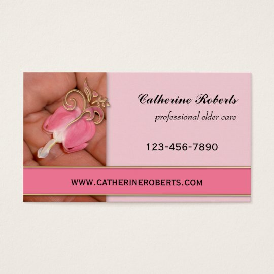 Professional Elder Care Business Card