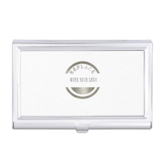 Professional Elegant ADD Your LOGO PHOTO BRAND Business Card Holders