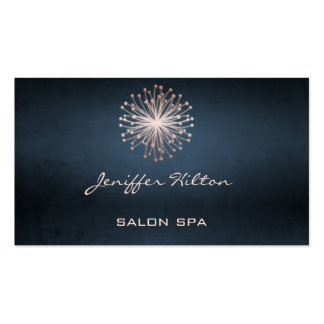 Professional elegant chic dandelion business card