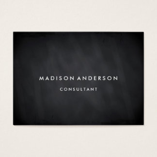 Professional Elegant Modern Black Chalk Board