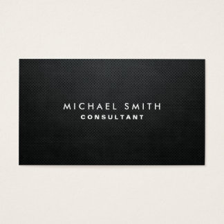 Professional Elegant Modern Black Plain Simple