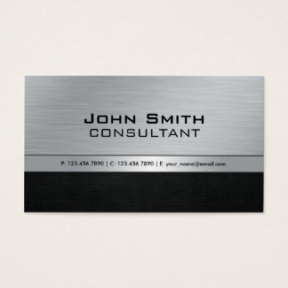 Black and silver business cards business card printing zazzle uk professional elegant modern black silver metal business card reheart Image collections