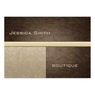 Professional elegant modern luxury glittery pack of chubby business cards