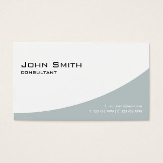 Professional Elegant Modern Simple Plain Green Business Card