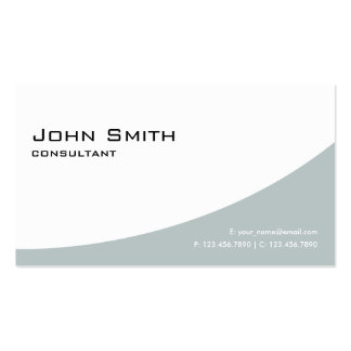 Professional Elegant Modern Simple Plain Green Pack Of Standard Business Cards