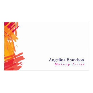 Professional Elegant Modern Simple Plain White Pack Of Standard Business Cards