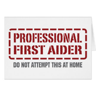 Professional First Aider Card