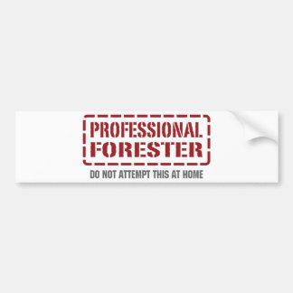 Professional Forester Bumper Sticker
