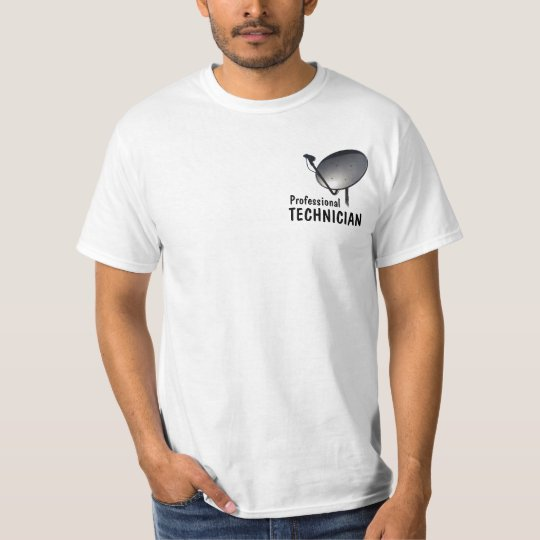 PROFESSIONAL FTA SATELLITE DISH TECHNICIAN T-Shirt