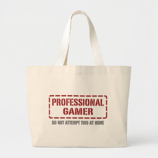 Professional Gamer Jumbo Tote Bag