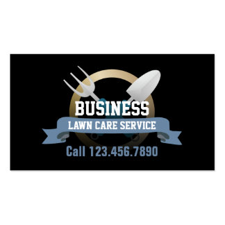 Professional Gardening & Lawn Service Pack Of Standard Business Cards