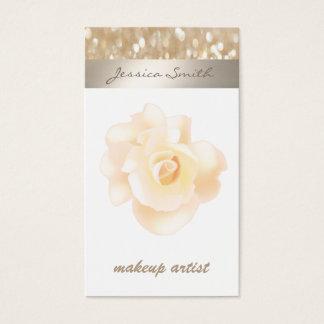 Professional glamorous modern elegant bokeh rose
