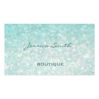 Professional glamorous modern elegant plain bokeh pack of standard business cards