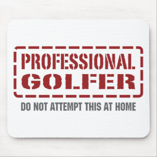 Professional Golfer Mouse Mat