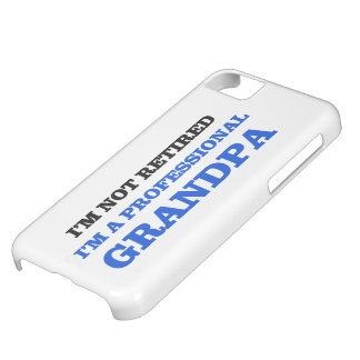 Professional Grandpa iPhone 5C Case