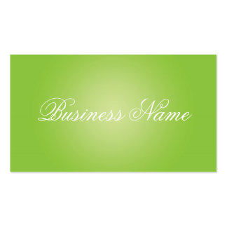 Professional Green Business Cards