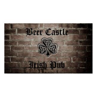 Professional  grunge Irish lucky shamrock Business Cards