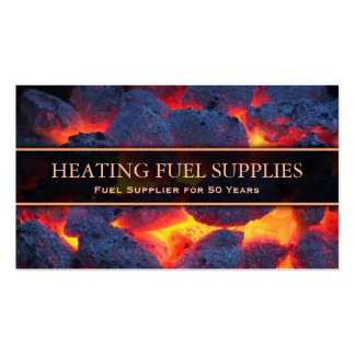 Professional Heating Servicing - Business Card